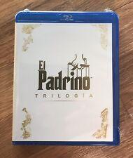 Trilogía El Padrino Blu Ray -precintada-