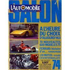L'Automobile, salon 1974