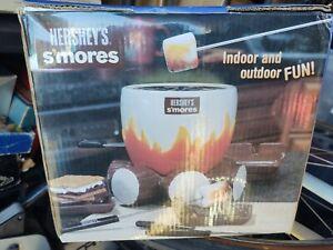 Hershey's S'mores Maker Kit Indoor Outdoor Camping NEW Original Box BRAND NEW