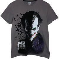 Batman Joker Takes Control Womens Grey T-Shirt Size Medium DC Comics