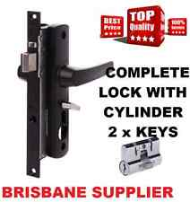 Whitco MK2 Security Screen Door lock New - Includes Free cylinder - Brisbane
