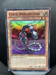 Cyber Dragon Core YU-GI-OH 1st Edition Card SDCR-EN001