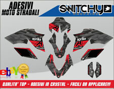 KIT ADESIVI GRAFICHE BLACK CAMO FULL APRILIA DORSODURO  750 DECALS DEKOR
