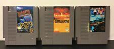 Lot Of 3 NES Game Bundle - The Guardian Legend - Blaster Master - Pro Wrestling