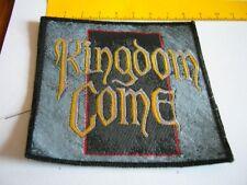 KINGDOM COME – rare old original 80s Patch!!!