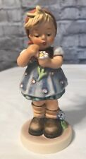 """""""Daisies Don't Tell"""" Hummel By W. Goebel 1972 Figurine #380 Special Edition"""