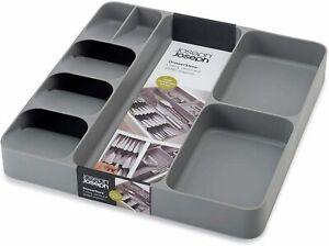 32 Piece Joseph Joseph Cutlery Utensil Drawer Storage Gadget Organiser Grey Bar