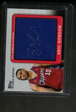 ERIC GORDON rc AUTO RELIC patch  RPA  2009 topps ROOKIE REWIND  90 /99 clippers