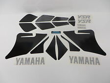 Complete Cowling Decal Graphics Set Kit Yamaha YSR 50 80 YSR50 YSR80 All Black