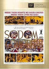 Sodom and Gomorrah (1962 Stewart Granger)  - Region Free DVD - Sealed