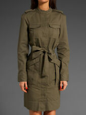 Runway Marlow Jacket Dress Marc By Marc Jacobs 10 FOLIAGE GREEN *NWT* $368