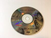 PLEASE READ Dead or Alive 2 (Sega Dreamcast, 2000) DISC ONLY