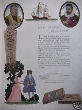 PUBLICITÉ 1930 CIGARETTES DE LUXE RAVENKLAU GULDENRING - ADVERTISING