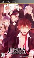 Used PSP Diabolik Lovers Japan Import ((Free shipping))