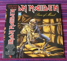 Iron Maiden ~ Piece Of Mind ( Limited Edition Picture Disc ) (2012 Version)  Lp