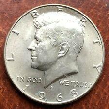 1968 D 50C KENNEDY HALF DOLLAR