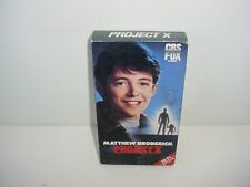 Project X VHS Video Tape Movie