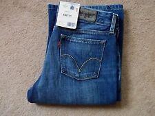 Nuevas damas Red Tab Bootcut blue jeans de Levi 572 W29 L34