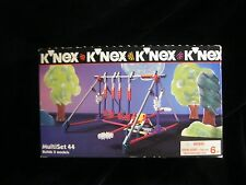 VINTAGE 1998 K'NEX MULTI  SET USED 105 PIECES-  BUILDS  5  MODELS-  AGE 6+  USA
