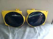 NOS GENUINE SUZUKI PAIR SIDE PANEL COVERS RM125 1976 1977 1978 RM 125 RM100 PE