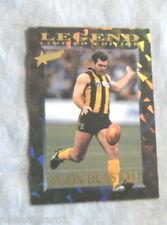 1995 AFL LEGEND CARD LC1 JASON DUNSTALL, HAWTHORN HAWKS