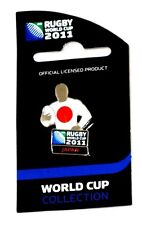 33641 ROMANIA RUGBY WORLD CUP 2011 JERSEY FLAG PIN BADGE COLLECTABLE