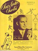 1935 Cheerleader Charlie by Cavanaugh, Edelheit and Emmerich Showing Ben Bernie