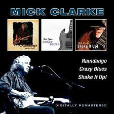 Mick Clarke - Ramdango / Crazy Blues / Shake It Up [New CD] UK - Import