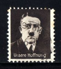 E550-GERMAN EMPIRE-Third reich.1933 WWII.Adolf HITLER NAZI Stamp OUR HOPE.Used.