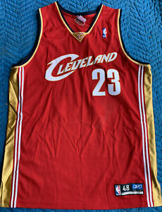 Cleveland Cavaliers - *-* LeBron James - Authentic Reebok Jersey **_** NEW!!!