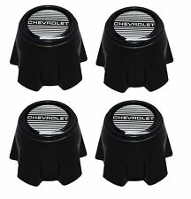 "NEW 1981-1985 CHEVY MONTE CARLO SS 15"" Steel Rally Wheel Hub Center Cap SET of 4"