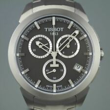 Tissot T-Sport Titanium date Chronograph Men's Anthracite dial wrist watch
