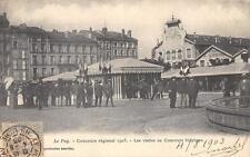 CPA 43 LE PUY CONCOURS REGIONAL 1903 LES VISITES AU CONCOURS HIPPIQUE(dos non di