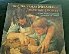 The Christmas Miracle of Jonathan Toomey by Susan Wojciechowski 1995 Candlewick