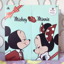 More details for disney mickey minnie mouse sweethearts valentines limited edition doll set 2021