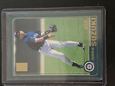 ichiro suzuki rookie card topps 2001