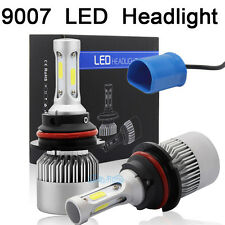 9007 HB5 White LED 72W 16000LM High Low Beam Headlight Bulbs For 1997-2003 F150