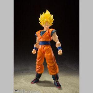DBZ Dragon Ball Z figurine S.H. Figuarts Super Saiyan Full Power Son Goku 14 cm