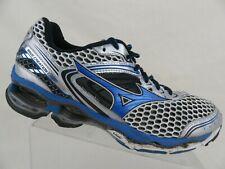 new styles a75bf 675e5 MIZUNO Wave Creation Grey Blue Sz 9.5 Men Running Shoes
