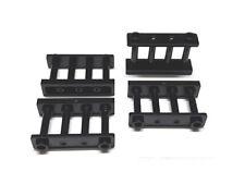 4185652 Lego Zaun Gitterstäbe 1 x 4 x 2 Schwarz 4 Stück