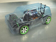 VINTAGE VAN BODY FOR TRAXXAS 1/16TH 1/16 RALLY CHASSIS