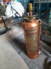 Antique Copper Fire Extinguisher Lamp