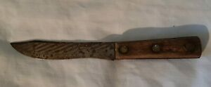 Vintage Case XX 431-6 Old Forge Butcher Kitchen Carbon Steel Fixed Blade Knife