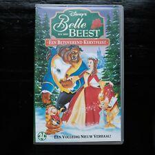 BELLE EN HET BEEST - EEN BETOVEREND KERSTFEEST - DISNEY  - VHS