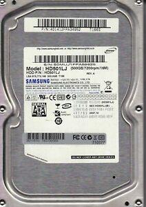 """Samsung SpinPoint T166S 500-GB 7.2K RPM 3 SATA 3.5"""" DESKTOP Hard Drive HD501LJ"""