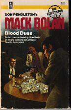 Executioner #71:  Blood Dues -  PB 1984 - Don Pendleton - Mack Bolan