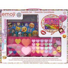 Townley Girl Emoji Sparkly, Shiney Cosmetic Set for Girls, Eye Shadow, Blush..