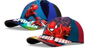 Kinder Basecap Kappe Mütze Baseball Cap Spiderman Gr. 52 - 56 cm Marvel