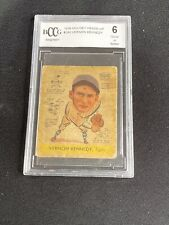 VERNON KENNEDY 1938 GOUDY HEADS-UP #280 BCCG GRADED 6 - SHIPS FREE