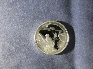 2019 S SILVER Quarter DEEP CAMEO MIRROR PROOF WAR IN THE PACIFIC PARK in GUAM